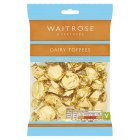Waitrose dairy toffee