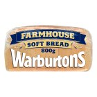 Warburtons soft white sliced farmhouse bread - 800g