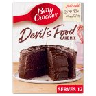 Betty Crocker Devil's Food Cake Mix - 500g Brand Price Match - Checked Tesco.com 05/03/2014