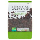 essential Waitrose raisins