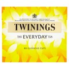 Twinings everyday 80 tea bags - 250g Brand Price Match - Checked Tesco.com 15/09/2014