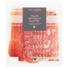 Waitrose farm assured Italian antipasto platter - 120g