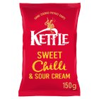 Kettle Chips sweet chilli - 150g Brand Price Match - Checked Tesco.com 05/03/2014