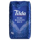 Tilda pure basmati rice - 1kg Brand Price Match - Checked Tesco.com 14/04/2014