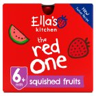 Ella's Kitchen Organic smoothie fruit the Red One baby food - 5x90g Brand Price Match - Checked Tesco.com 30/07/2014