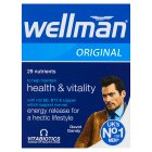 Wellman tablets - 30s Brand Price Match - Checked Tesco.com 20/10/2014