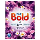 Bold 2in1 Lavender & Camomile Washing Powder 10 washes - 650g Brand Price Match - Checked Tesco.com 24/08/2016