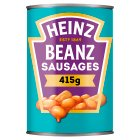 Heinz Beanz with pork sausages