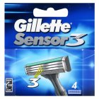Gillette sensor 3 razor blades - 4s Brand Price Match - Checked Tesco.com 16/04/2014
