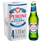 Peroni Nastro Azzurro 4 x 330ml Bottles - 4x330ml Brand Price Match - Checked Tesco.com 14/04/2014