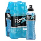 Powerade berry and tropical fruit multipack bottles - 4x500ml