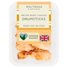 Waitrose British roast chicken drumsticks - 520g