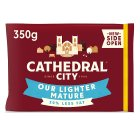 Cathedral City mature Lighter - 350g Brand Price Match - Checked Tesco.com 17/12/2014
