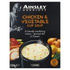 Ainsley Harriott chicken & vegetable cup soup, 4 servings - 104g