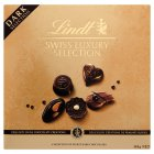 Lindt Swiss Luxury Selection dark chocolate collection - 145g