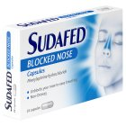 Sudafed congestion relief capsules - 24s