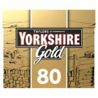 Taylors of Harrogate Yorkshire gold 80 tea bags - 250g