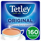Tetley 160 tea bags - 500g Brand Price Match - Checked Tesco.com 16/07/2014