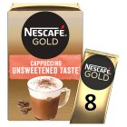 Nescafé Café Menu cappuccino unsweetened coffee - 10x14.2g Brand Price Match - Checked Tesco.com 24/11/2014