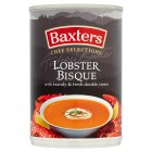 Baxters luxury lobster bisque soup - 400g