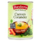Baxters vegetarian carrot & coriander soup - 400g Brand Price Match - Checked Tesco.com 02/12/2013