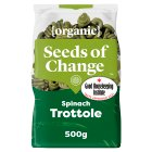 Seeds of Change organic spinach trottole pasta - 500g