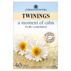 Twinings moment of calm pure camomile 40 tea bags