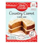 Betty Crocker Carrot Cake Mix - 500g Brand Price Match - Checked Tesco.com 05/03/2014