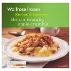 Waitrose Frozen Kentish Bramley apple crumble - 600g