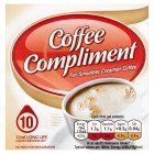 Coffee compliment - 10x12ml Brand Price Match - Checked Tesco.com 30/07/2014