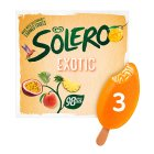 Solero exotic 3 pack ice cream lolly - 264ml Brand Price Match - Checked Tesco.com 27/07/2016