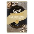 Epicure canned organic haricot beans - 400g