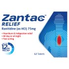 Zantac 75 Relief tablets - 12s Brand Price Match - Checked Tesco.com 19/11/2014