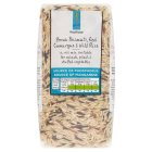 Waitrose LOVE life brown basmati, red camargue & wild rice - 500g