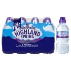 Highland Spring, spring still water, 12 pack - 12x330ml