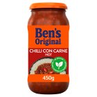 Uncle Ben's Mexican hot chilli con carne sauce - 450g Brand Price Match - Checked Tesco.com 30/07/2014