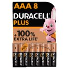 Duracell Plus Power AAA Batteries Alkaline - 8s
