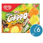 Calippo 6 mini orange & lemon-lime ice lollies