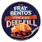 Fray Bentos steak & ale pie - 475g Brand Price Match - Checked Tesco.com 09/12/2013