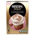 Nescafé Café Menu cappuccino skinny coffee - 10x14.5g Brand Price Match - Checked Tesco.com 24/11/2014