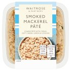 Waitrose smoked mackerel pâté - 115g
