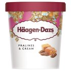 Haagen Dazs praline & cream ice cream - 500ml Brand Price Match - Checked Tesco.com 30/07/2014