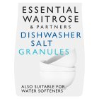 essential Waitrose dishwasher salt granules, 3kg - 3kg