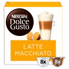 Nescafé Dolce Gusto latte macchiato coffee pods - 194.4g Brand Price Match - Checked Tesco.com 17/12/2014