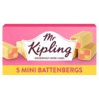 Mr Kipling Mini Battenberg cakes - 5s Brand Price Match - Checked Tesco.com 18/08/2014
