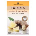 Twinings Revive & Revitalise - Lemon & Ginger - 40 Bags