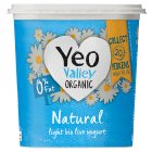 Yeo Valley organic fat free natural yogurt - 1kg Brand Price Match - Checked Tesco.com 05/03/2014