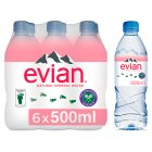 Evian still mineral water - 6x50cl
