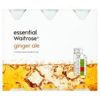 Waitrose ginger ale - 6x250ml