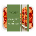 Waitrose spaghetti and meatballs - 400g